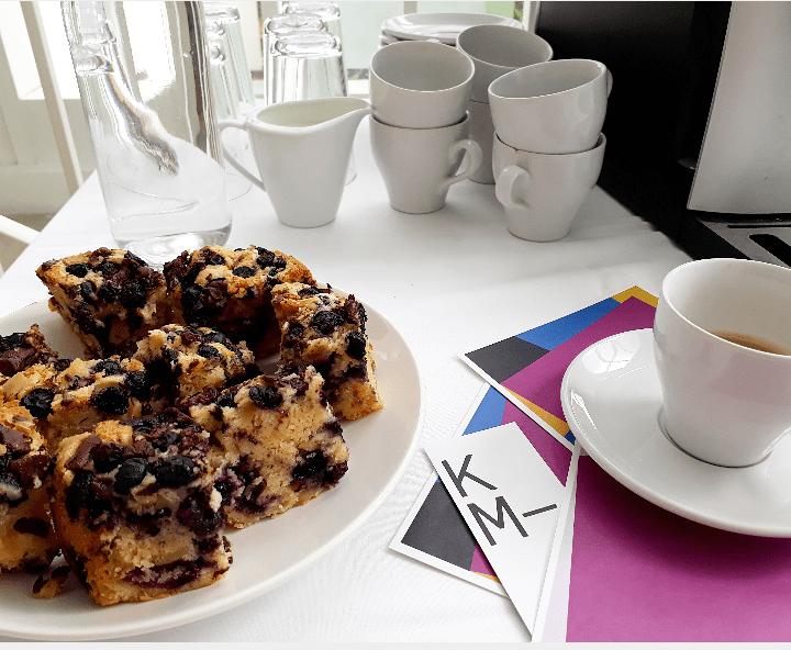 """Gemeinsamer Besuch von """"Kaffee & Kunst"""" im Künstlerhaus, Halle für Kunst & Medien, Sa. 22. Juli 2017"""