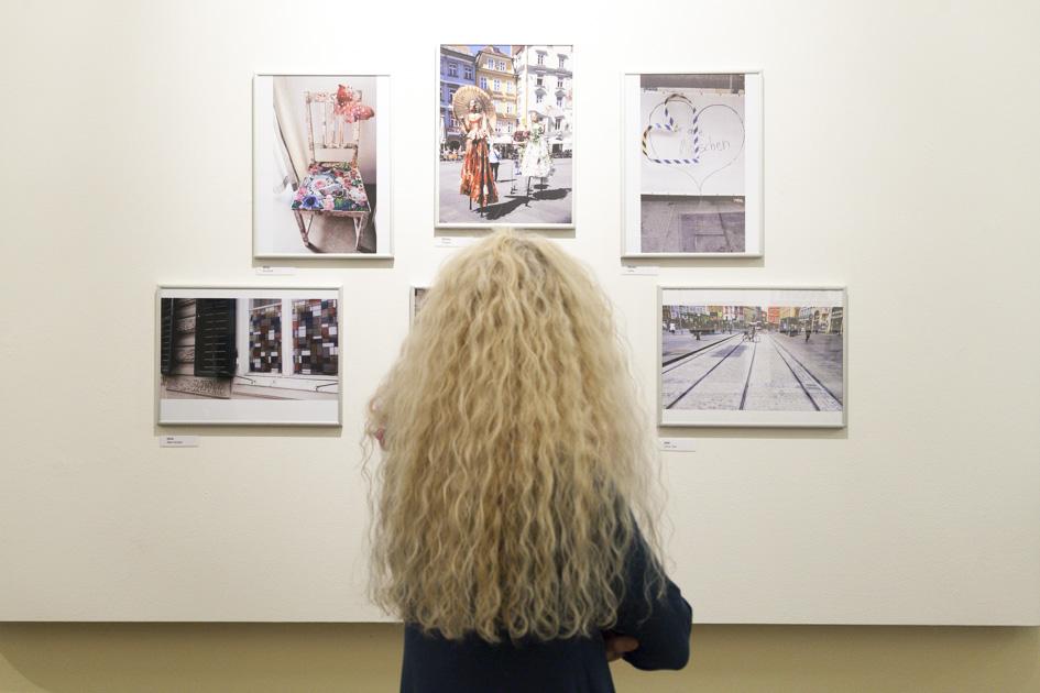 """Eindrücke der Ausstellungseröffnung """"Auf/Bruch"""" am 5. Oktober 2017"""